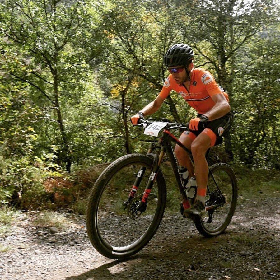 Over Rob van der Werf ervaring mountainbiken